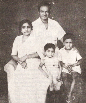 Thoppil Bhasi's Family An Early Years Photo